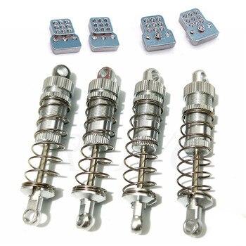 4pcs Shock Absorber Damper With Extender for WPL C14 C24 C34 C44 MN D90 D91 MN96 MN99 MN99S RC Car Accessories