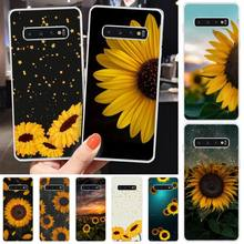 Ivits Upright sunflower Customer High Quality Phone Case For Samsung S6 S7 S7edge S8 S8plus S9 S9plus S10 S10 plus E cheap gear vr 5 0 3d vr glasses helmet built in gyro sens for samsung galaxy s9 s9plus s8 s8 note5 note 7 s6 s7 s7edge