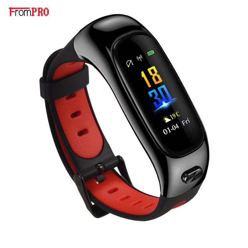 Nouveau Bracelet intelligent S1 et écouteurs deux en un Bracelet intelligent montre d'appel Bluetooth Bracelet de sport Bracelet étanche