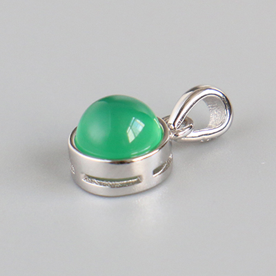 23.Green Chalcedony