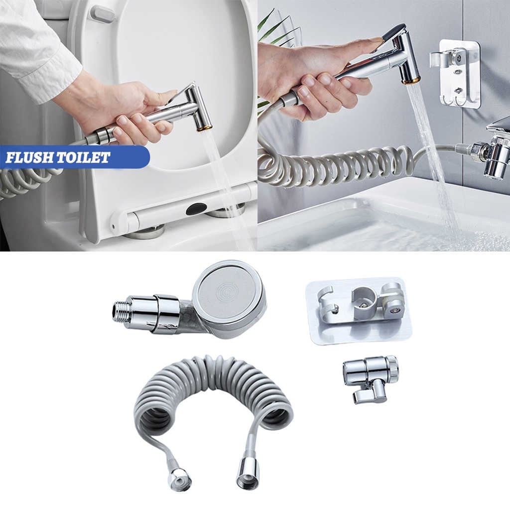 hand shower sink spray hair washing faucet rinser portable pull out shampoo sprayer handheld quick connect recoil hose