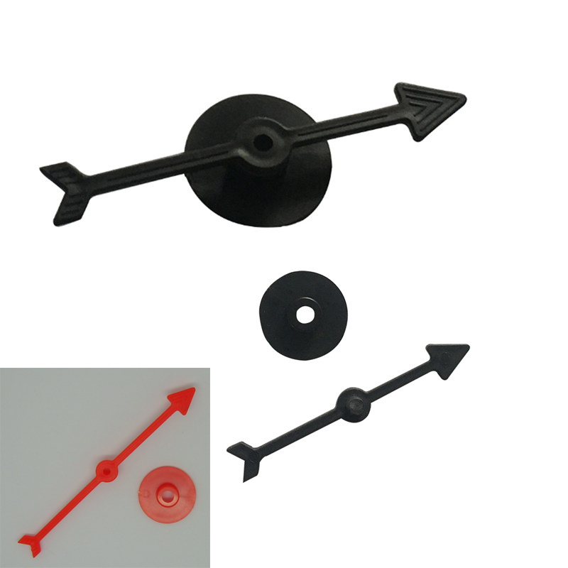 7 Pieces Black Arrow Size 7.2CM Plastic Pawn/Chess For Board Game And Card Game Accessories