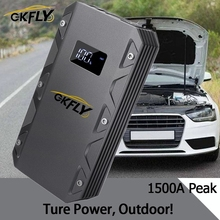 GKFLY High Power 20000mAh Auto Starthilfe 12V 1500A Tragbare Ausgangs Gerät Power Bank Auto Ladegerät Für Auto batterie Booster LED