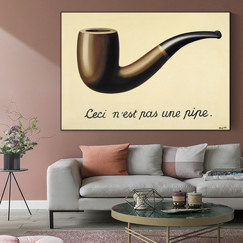 The Treachery of Images This Is Not a Pipe by René Magritte 3