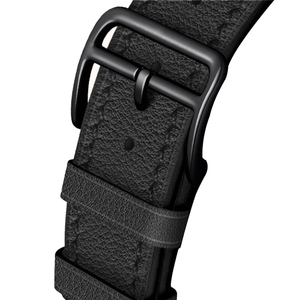 Image 2 - הכי חדש אמיתי עור שעון רצועת עבור אפל שעון סדרת 5 4 40mm/44mm להקת שעון צמיד רצועת השעון עבור אפל שעון סדרת 3 2