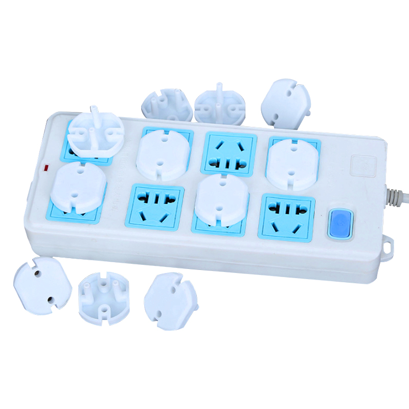 Safety Electric Sockets Covers Power Socket Electrical Outlet 2 Plug Cover Safety Guard Protection Anti Electric Shock