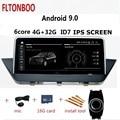 10.25 ''Android 9 Auto Gps radio di navigazione lettore ID7 per BMW X1 E84 6 core wifi bluetooth 4GB di RAM 32GB di ROM