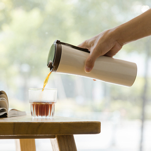 Image 5 - Capteur de température sensible de bouteille deau de vide thermique dacier inoxydable de poisson de baiser Original de Xiaomi avec le brasseur de café