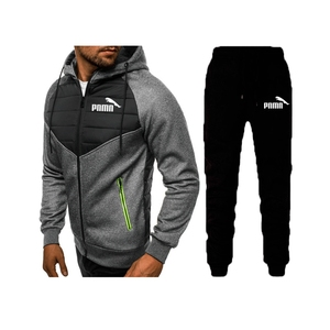 2020 Mens clothing winter sportswear cotton hooded sportswear running suit clothes sports jogging training brand sportswear suit