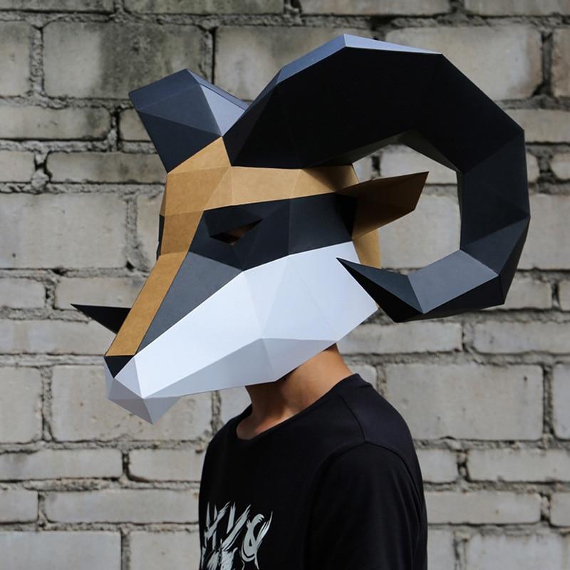 מסכת ראש אוריגמי - אייל  4