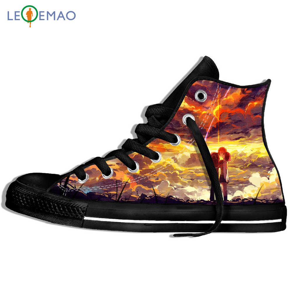 Custom Image Printing Sneakers Anime