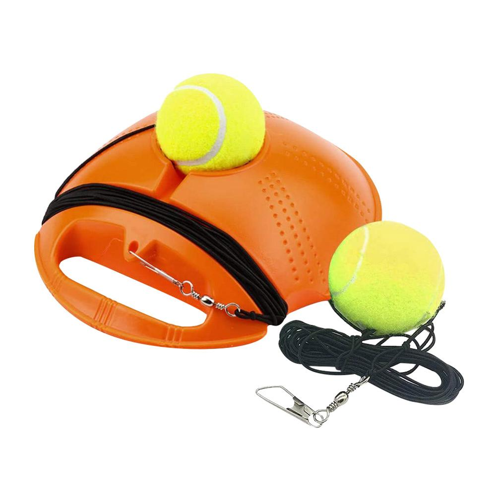 Dropshipping Tennis Trainer Self-study Rebound Ball With Baseboard Exercise Sports Sparring Device Tennis Training Equipment