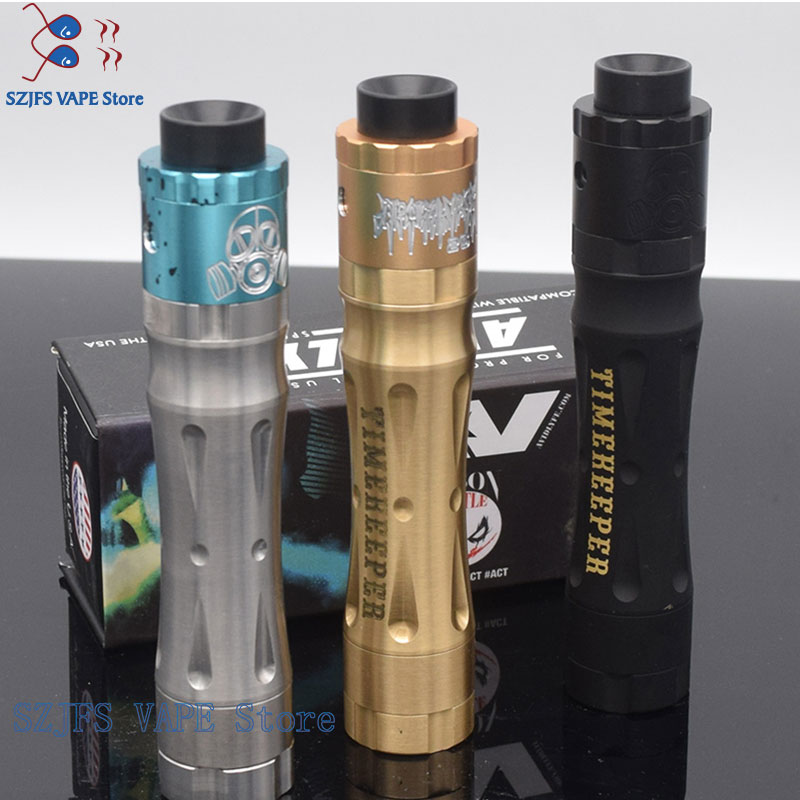 Kit E-cigarette Avid LyfeTimekeeper V2 Kit Mech Mod Apocalypse GEN 25 RDA Kits Start Timepiece Tube Competition Mechanical Mod