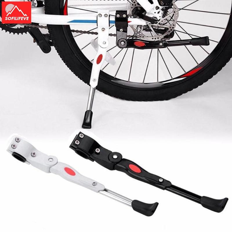 Adjustable MTB Road Bike Kickstand Bicycle Parking Rack Support BMX Side Kick Stand Foot Brace Bicycle Accessories Bike Holder