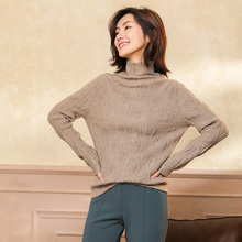 цена на 2019 Autumn and winter New Korean Half turtleneck Sweater jacket Womens Long Sleeve  knitted cashmere Sweater woman