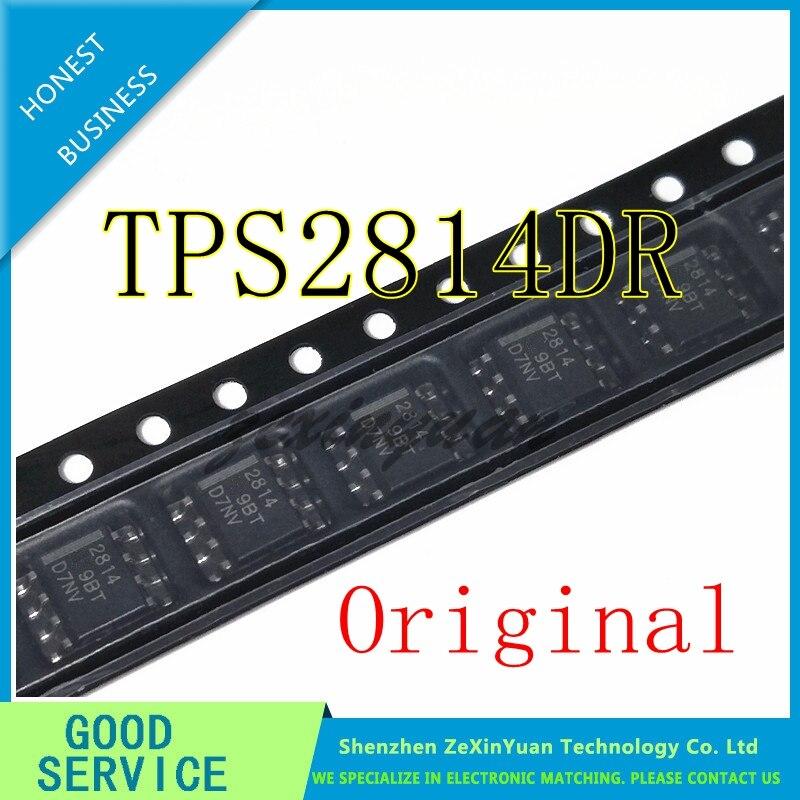 10PCS/LOT TPS2814DR TPS2814D TPS2814 2814 SOP-8 New Original