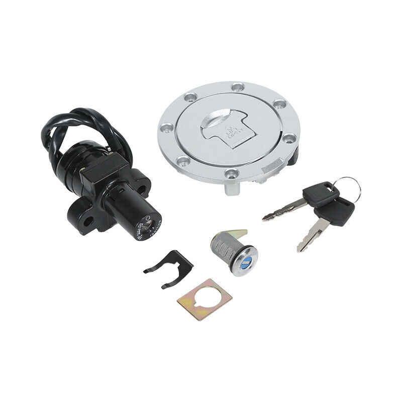 รถจักรยานยนต์หมวก & สวิตช์ล็อคชุดกุญแจสำหรับ HONDA VFR400 NC30 RVF400 NC35 CBR250