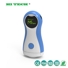 Grote Kleur LCD display Fetal Doppler Draagbare echografie foetale heart monitor met 2MHz probe Alarm Functie & FHR Curve display(China)