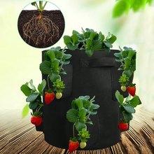 4/8 карманов, мешки для выращивания клубники, подвесные фетровые горшки для выращивания растений, тканевые мешки для посадки овощей, фруктов,...