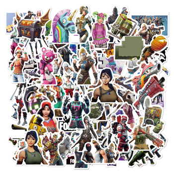 цены Kocozo Stickers 52 Pcs Fight Game Stickers for Luggage Laptop Decal Toys Bike Car Motorcycle Phone Funny Doodle Cool DIY Sticker