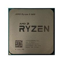 AMD Ryzen 5 1600 R5 1600 3,2 GHz seis núcleos doce hilos 65W CPU procesador YD1600BBM6IAE soket AM4