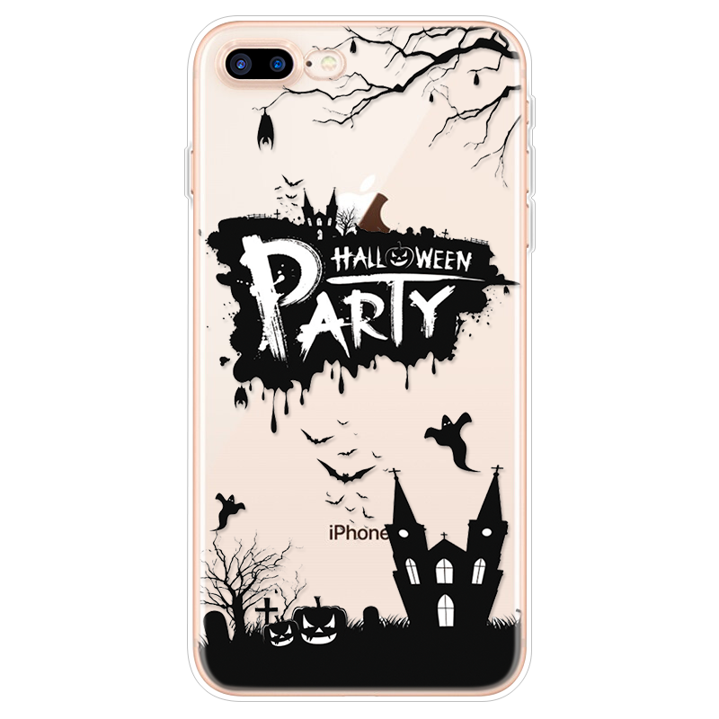 Halloween Witch Pattern Phone Cover For Iphone 7 Plus 8 6 6s Plus 4 4s 5c 5 5s Se For Iphone Xr X Xs Max 9 10 Silicon Back Shell Fitted Cases Aliexpress