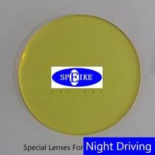 Линзы speike 156 для ночного вождения при близорукости желтые