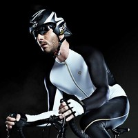 Santic 2019 New spexcel Men Long Sleeve Cycling Jerseys Extreme Fit Anti sweat Road Bike MTB Cycling Jersey Cycling Clothings