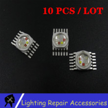 10 יח\אריזה 6W 12w 18w RGBWA UV 6 ב 1 LED חרוז מנורת מקור Led שבב LED מנורת חרוז Led אור עבור Led שלב תאורה