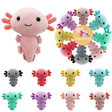 Axolotl pluszowa zabawka 20cm Kawaii Axolotl pluszowa zabawka wypchana lalka zwierzak dla dzieci prezenty na urodziny boże narodzenie tanie tanio CN (pochodzenie) Tv movie postaci Pluszowe MATERNITY W wieku 0-6m 7-12m 13-24m 25-36m 4-6y 7-12y 12 + y 18 + Genius Lalka pluszowa nano