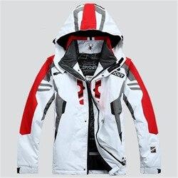 Мужская лыжная куртка, водонепроницаемая, теплая, ветрозащитная, дышащая, водонепроницаемая куртка для сноуборда