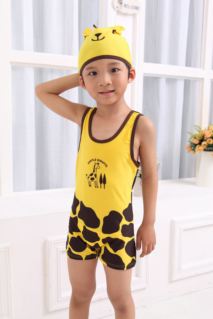 Special Offer Short In Size Swimwear BOY'S/Baby One-piece Swimming Suit Hot Selling Brand Goods Animal Modeling Men'S Wear