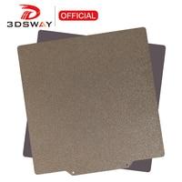 Piezas de impresora 3D 3DSWAY, doble cara texturizada PEI, polvo recubierto de resorte, hoja de acero, placa de construcción, cama caliente 220/235/310/410 Ender 3