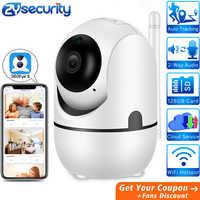 Intelligent sans fil sécurité à la maison Wifi IP caméra humaine automatique suivi vidéo Surveillance bébé moniteur CCTV WiFi caméra 360 degrés