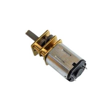 GA12-N20 DC 3V/6V/12V Mini mikro Metal motoreduktor z kołem zębatym N20 silniki prądu stałego 35 obrotów/min 70 obr/min 105 obr/min 140 silnik RPM reduktor motoreduktor