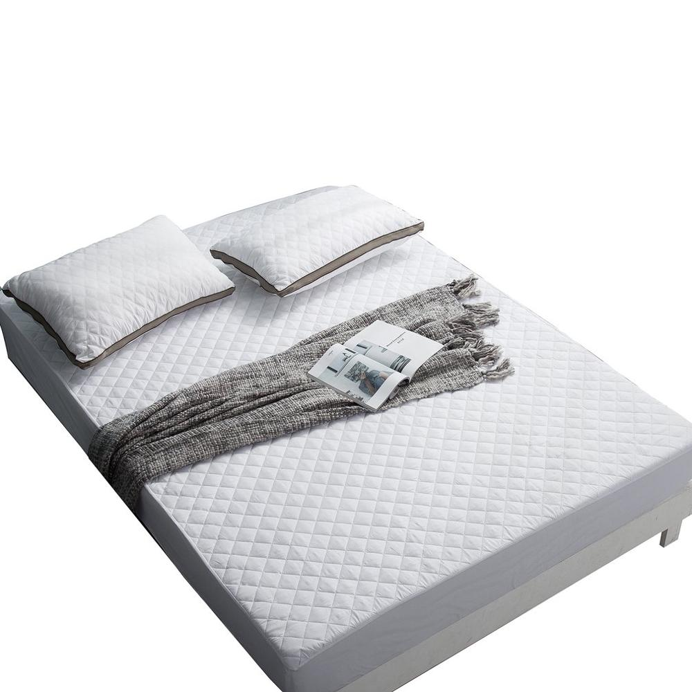 QUILTED-BED-SHEETS Mattress-Protection-Cover Hotel Thick Stitches Sanding-Cloth Ultrasonic