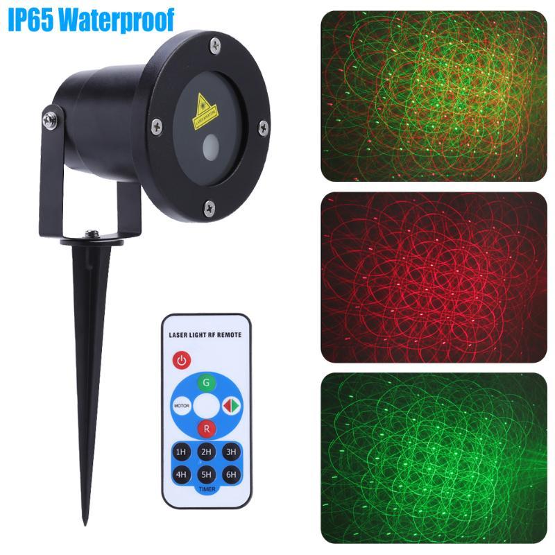 Disco Laser Christmas Light RGB Projector Party Lights DJ Stage Lighting Effect For Home Wedding LED Lights Decoration