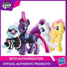 Hasbro My Little Pony Friends 3-Inch Fluttershy Rainbow Dash Pinkie Pie Lyra Heartstring Rarity Action Figure Collectible Toy цена в Москве и Питере