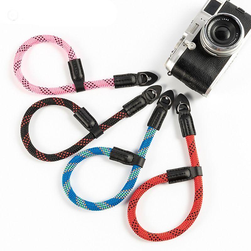 Nylon Colorful Rope Digital Camera Shoulder Wrist HandNeck Strap Belt