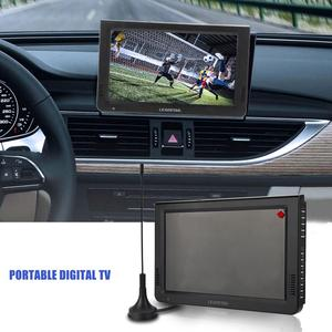 Image 3 - LEADSTAR ISDB T 10.1 Inches 16:9 Portable TFT LED Digital Analog Color TV Television Player EU