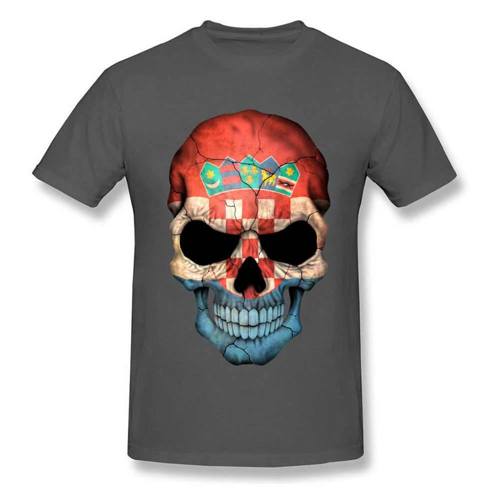 Croatian Flag Skull_carbon