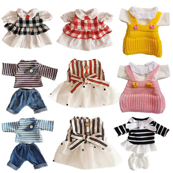 1PC Outfit Clothes for 30cm Rabbit/Cat/Bear Doll Plush Toys Beautiful Skirt Sweater Accessories 1/6 BJD Dolls