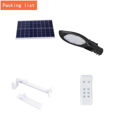 de rua solar conduziu lampada parede