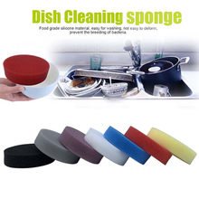 1Pcs Dish Washing Sponge Scrubber Kitchen Cleaning antibacterial clean sponge dishwash sponge kitchen accessories magic eraser(China)