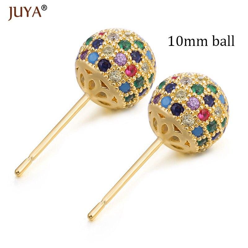 10mm ball gold