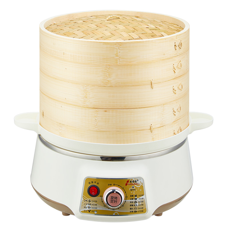 Steamed Steamed Bun Electric Steamer Large Capacity Automatic Power Off Steamed Fish Household Steam Pot