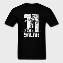 100-Algod-o-O-neck-Personalizado-Impresso-Homens-camiseta-Mohamed-Salah-T-Shirt-Das-Mulheres
