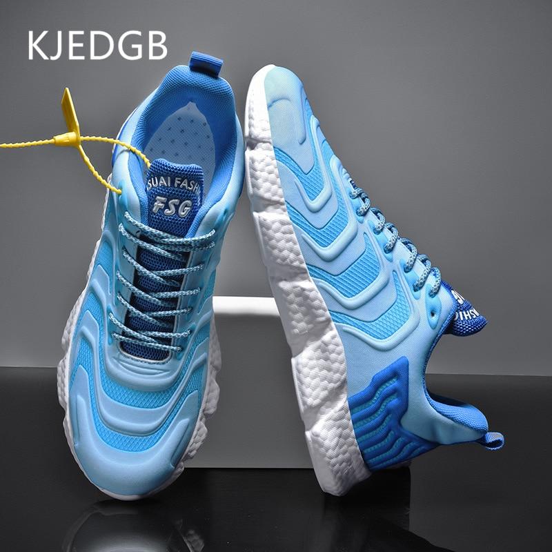 KJEDGB New Comfortable Ultralight Men s Casual Shoes Soft Sneakers Trend Men Shoes Zapatos De Hombre