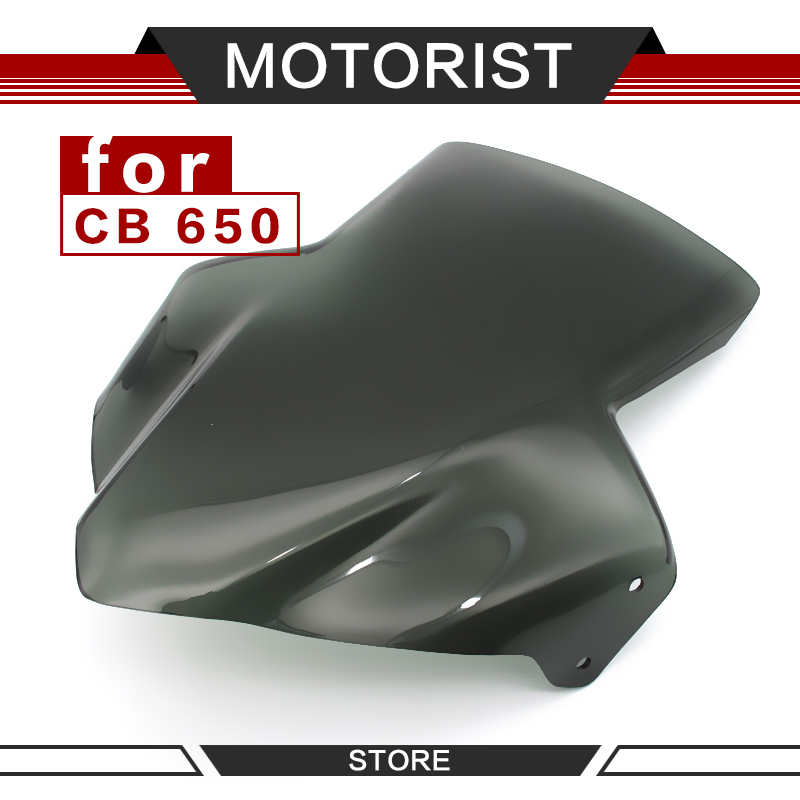 <font><b>Motorcycle</b></font> <font><b>Parts</b></font> for <font><b>HONDA</b></font> <font><b>honda</b></font> CB650F cb650f CB <font><b>650</b></font> F 2017-2018 WindScreen <font><b>Motorcycle</b></font> Windshield Viser VIsor Front Glass image