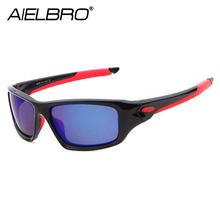 AIELBRO New HD Vision Fishing Sunglasses Men Women Outdoor Goggles Camping Hiking Driving Bicycle Eyewear Sport Cycling Glasses